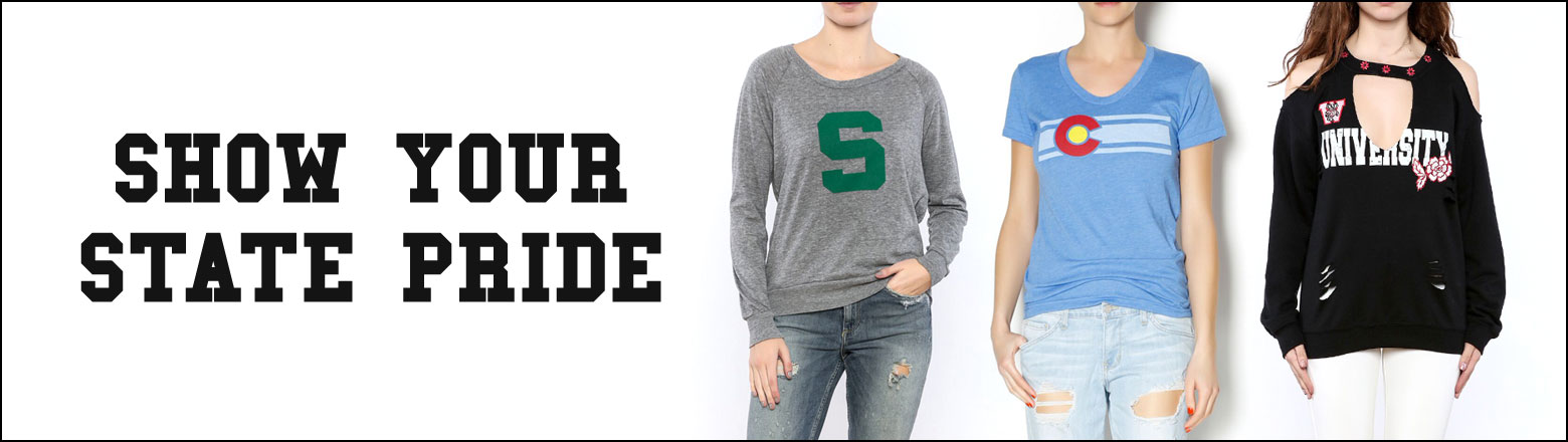 Shoptiques Fashion Trends: Show Your State Pride