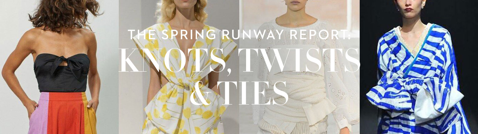 Shoptiques Fashion Trends: Spring Trends: Knots, Twists, Ties