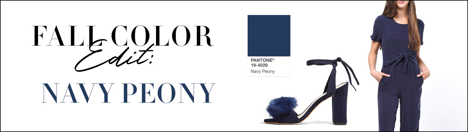 Shoptiques Fashion Trends: Fall Color Edit: Navy Peony