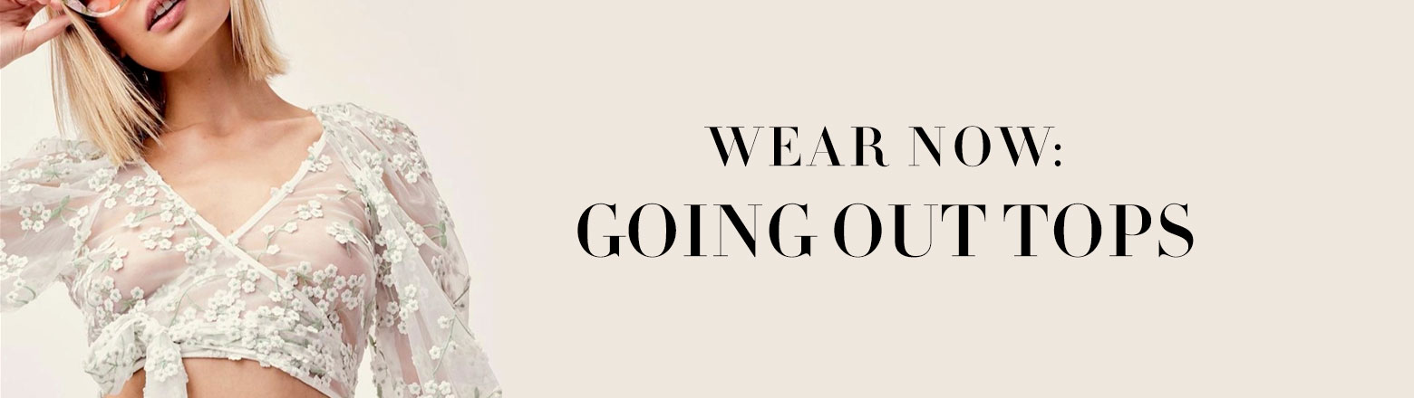 Shoptiques Fashion Trends: Wear Now: Going Out Tops