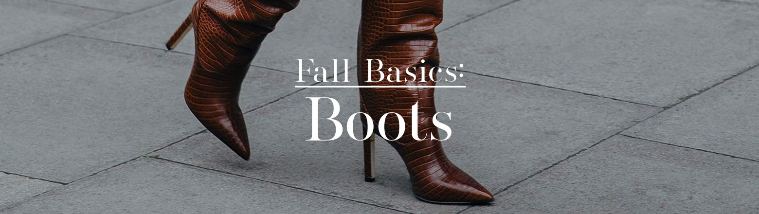 Shoptiques Fashion Trends: Fall Basic: Boots