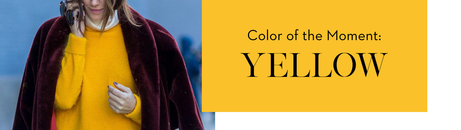 Shoptiques Fashion Trends: Color of the Moment: Yellow