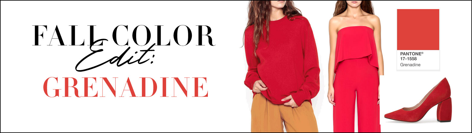 Shoptiques Fashion Trends: Fall Color Edit: Grenadine