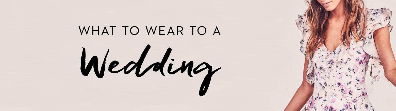 Shoptiques Fashion Trends: What to Wear to a Wedding