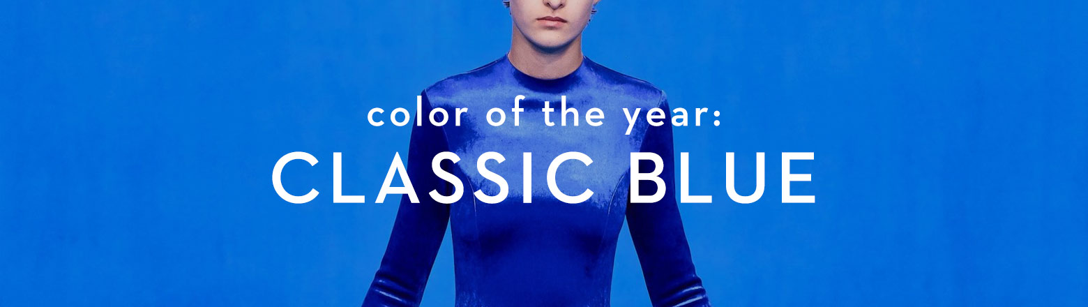 Shoptiques Fashion Trends: Color of the Year: Classic Blue