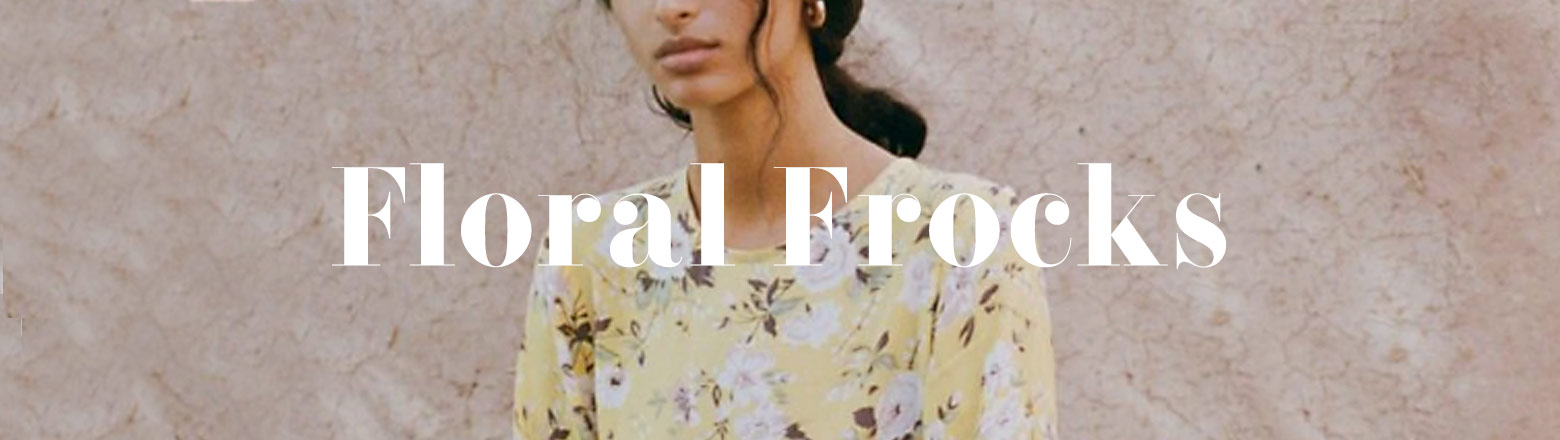 Shoptiques Fashion Trends: Floral Frocks