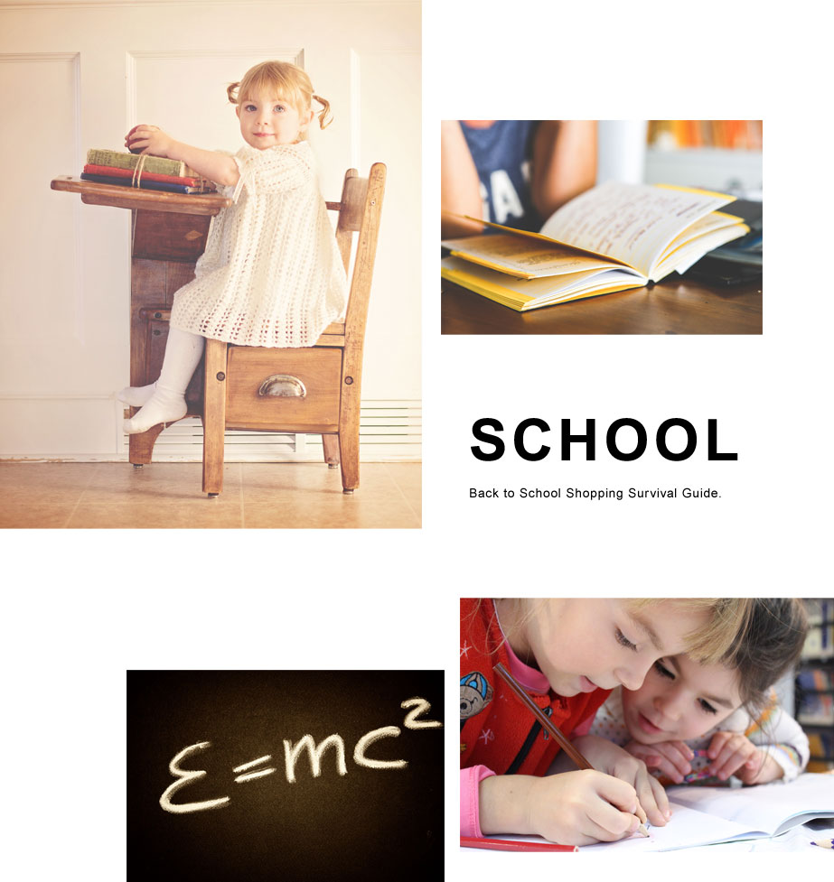 ShopKids Collection: School