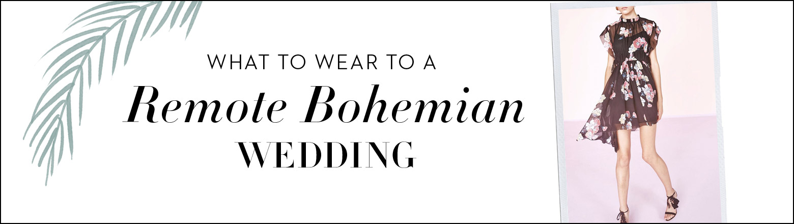 Shoptiques Fashion Trends: Summer Wedding: Bohemian Wedding