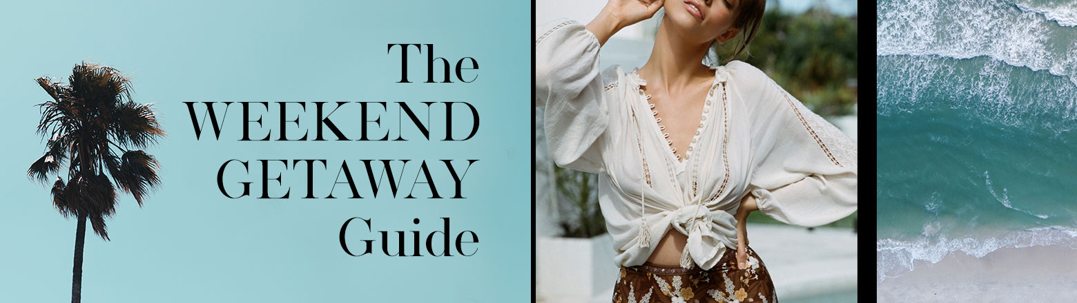 Shoptiques Fashion Trends: Weekend Getaway Guide