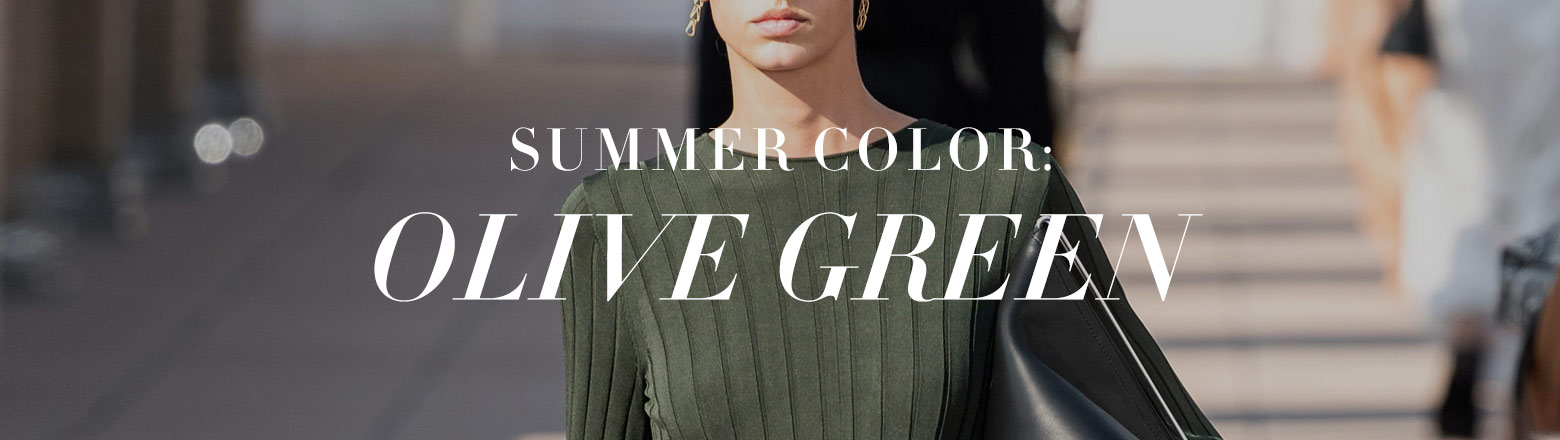 Shoptiques Fashion Trends: Color Color: Olive Green