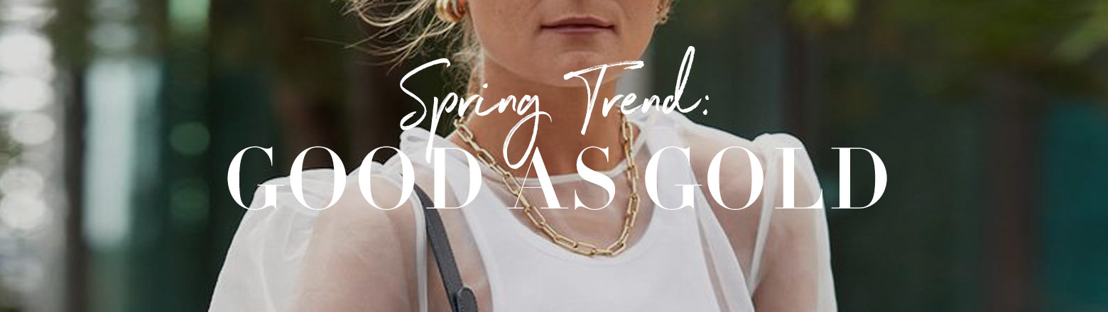 Shoptiques Fashion Trends: Spring Trend: Gold Jewelry