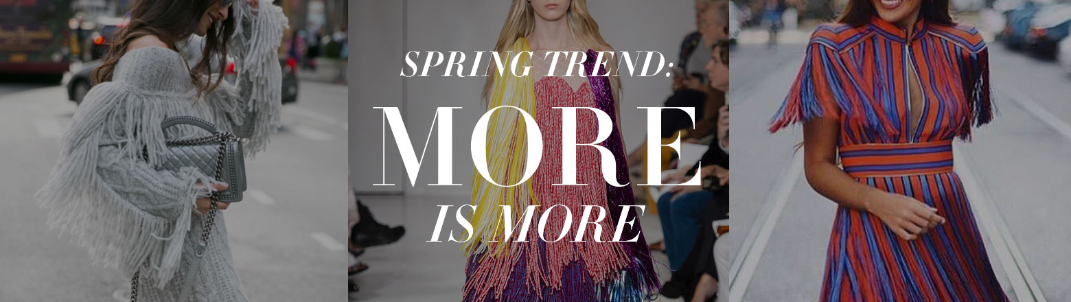 Shoptiques Fashion Trends: Spring Trends: More is More