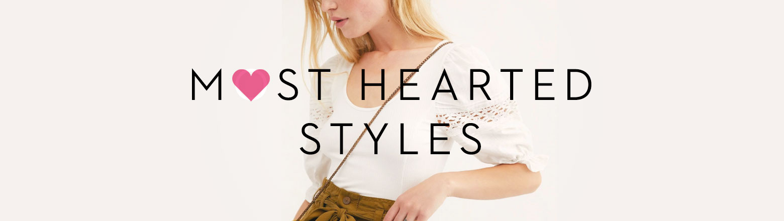 Shoptiques Fashion Trends: Most-Hearted Styles