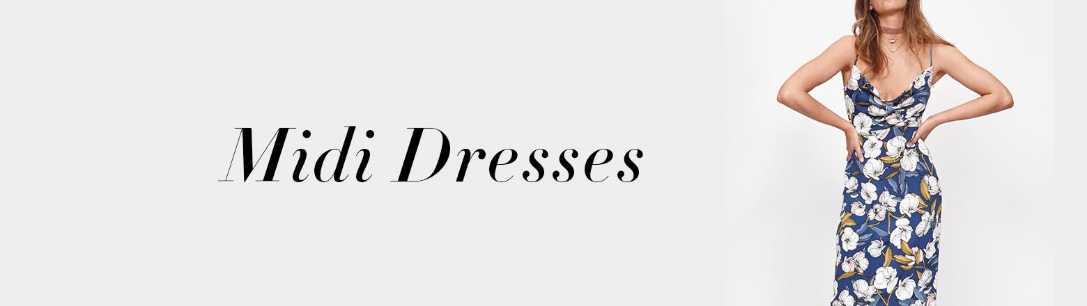 Shoptiques Fashion Trends: Midi Dresses