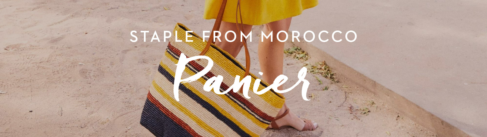 Shoptiques Fashion Trends: Panier from Morocco