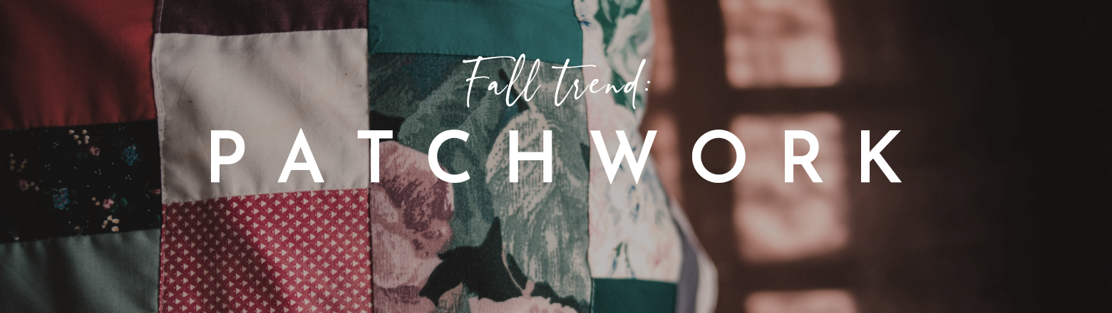 Shoptiques Fashion Trends: Fall Trend: Patchwork