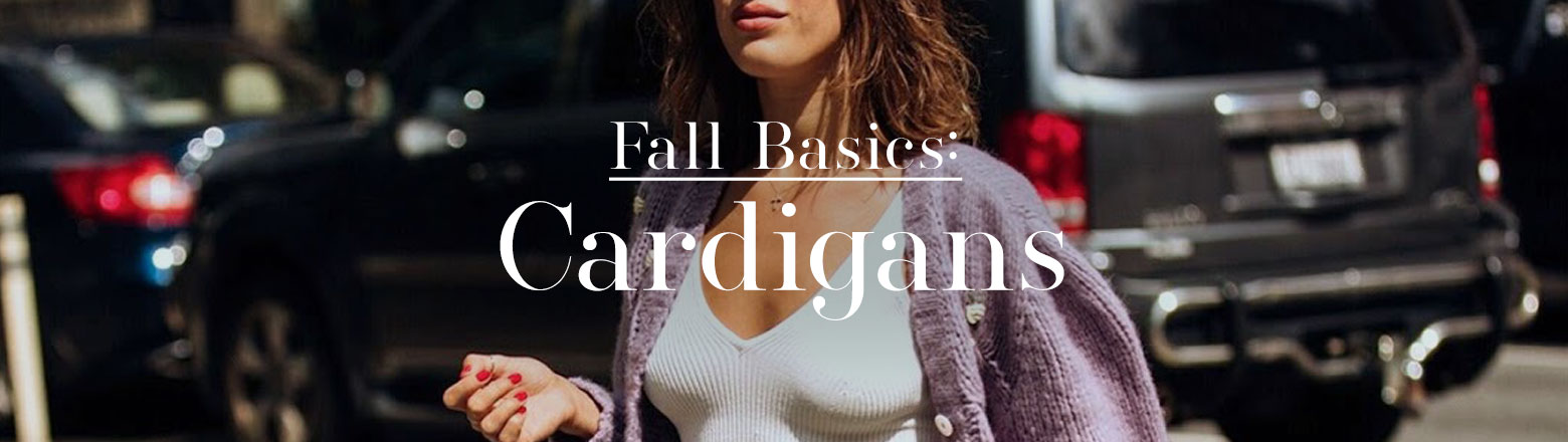 Shoptiques Fashion Trends: Fall Basic: Cardigans