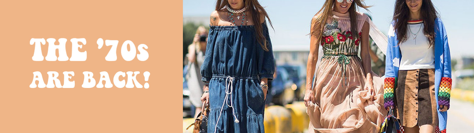 Shoptiques Fashion Trends: The '70s are Back!