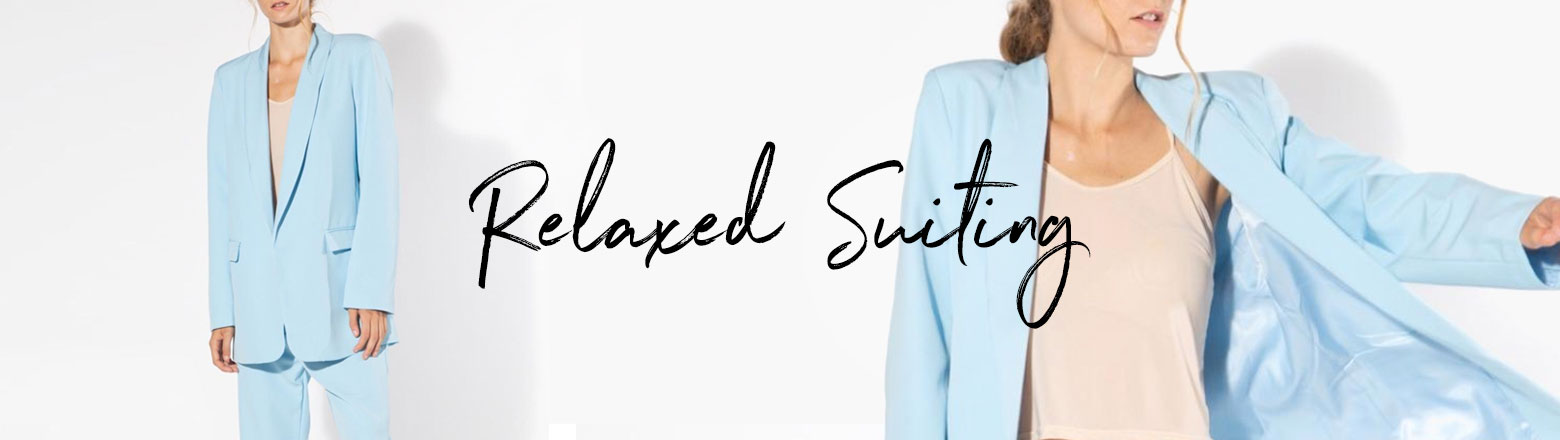 Shoptiques Fashion Trends: Relaxed Suiting