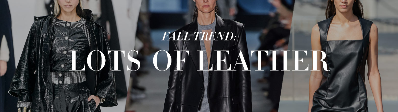 Shoptiques Fashion Trends: Fall Trend: Lots of Leather