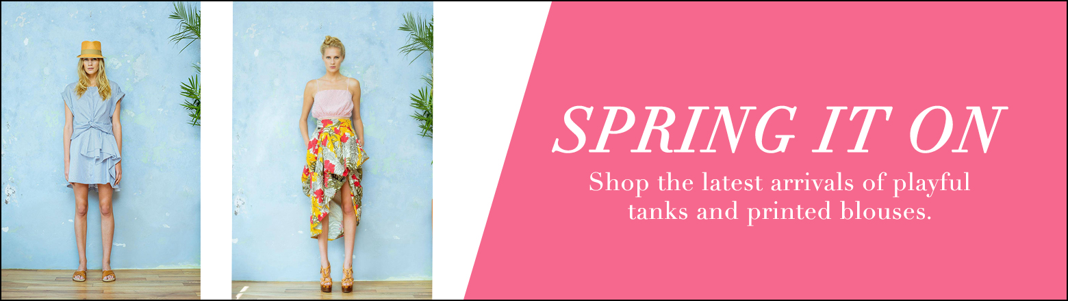 Shoptiques Fashion Trends: The Best Tops for Spring