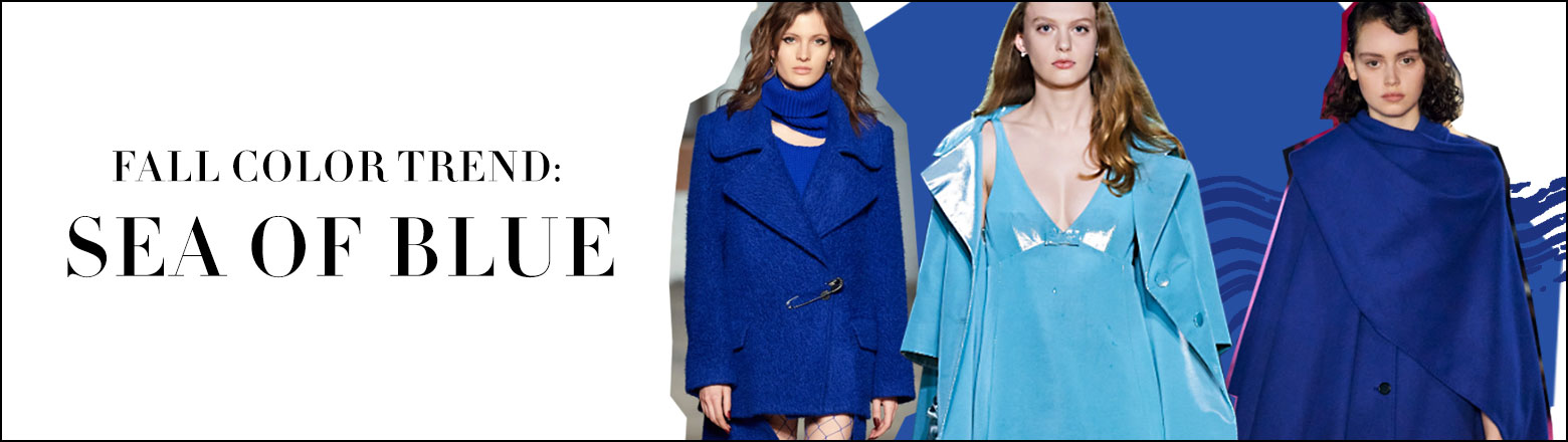 Shoptiques Fashion Trends: Fall Color Trend: Sea Of Blue