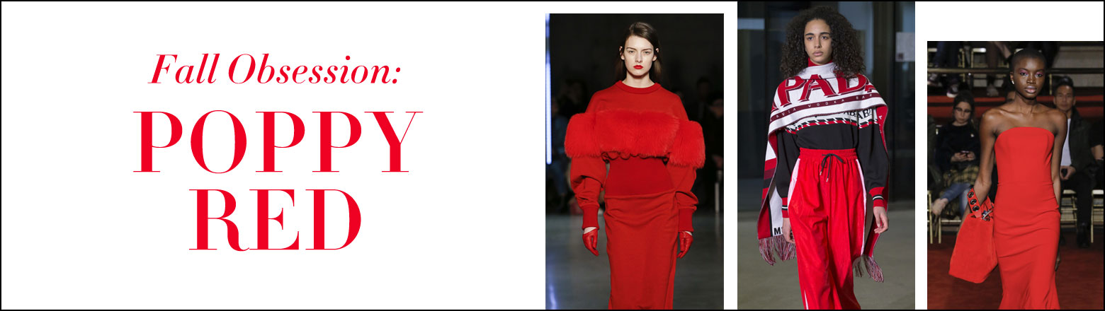 Shoptiques Fashion Trends: Fall Obsession: Poppy Red