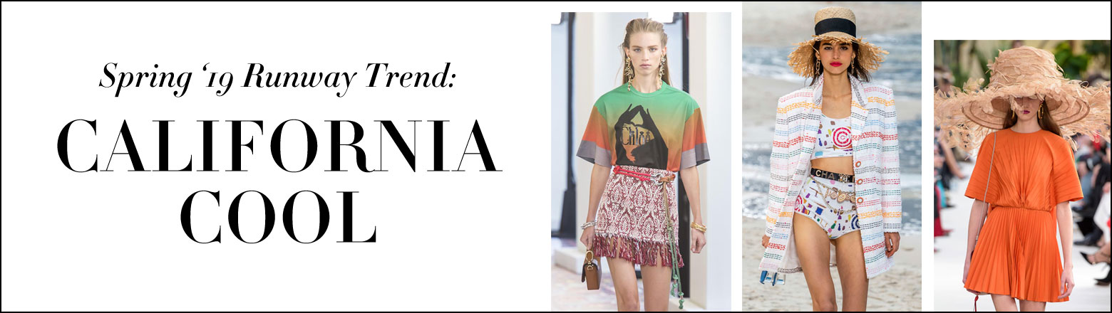 Shoptiques Fashion Trends: Spring'19 Runway Trend: California Cool