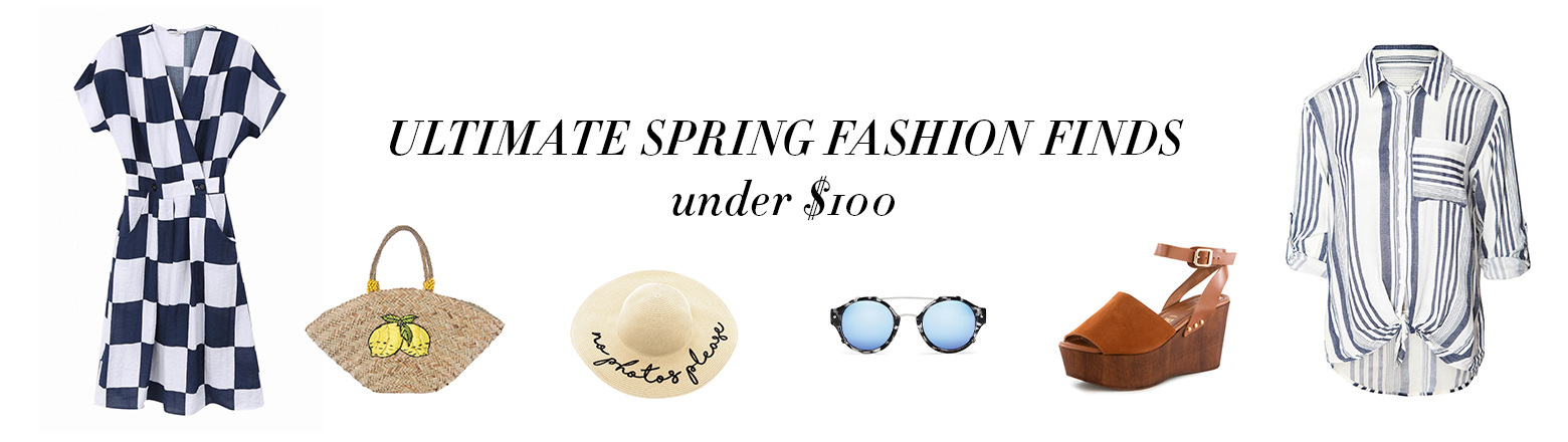 Shoptiques Fashion Trends: Spring Finds Under $100