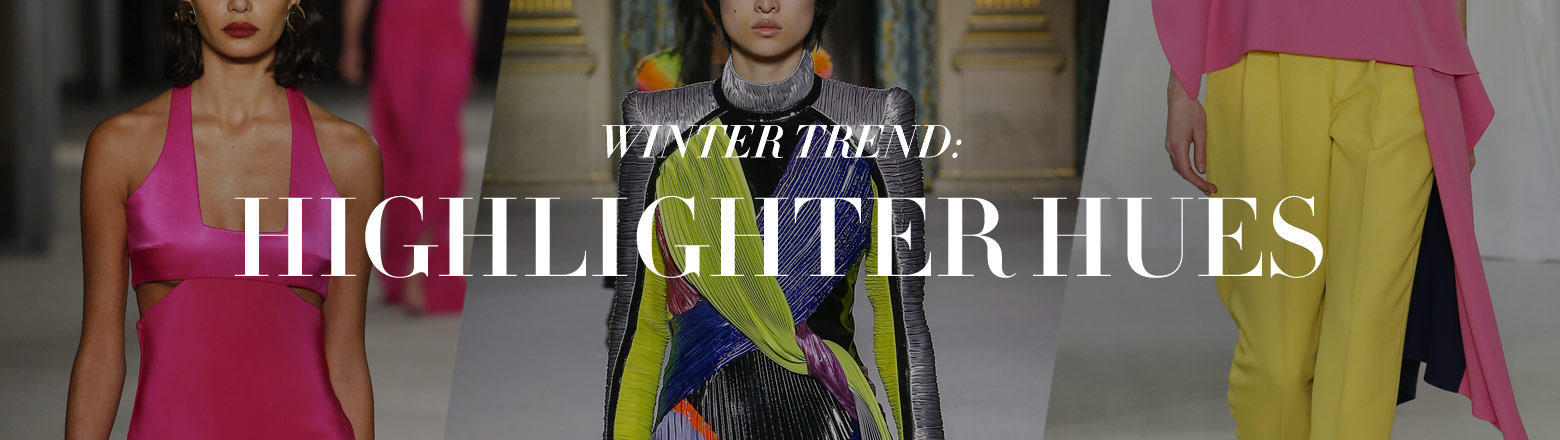 Shoptiques Fashion Trends: Winter Trend: Highlighter Hues