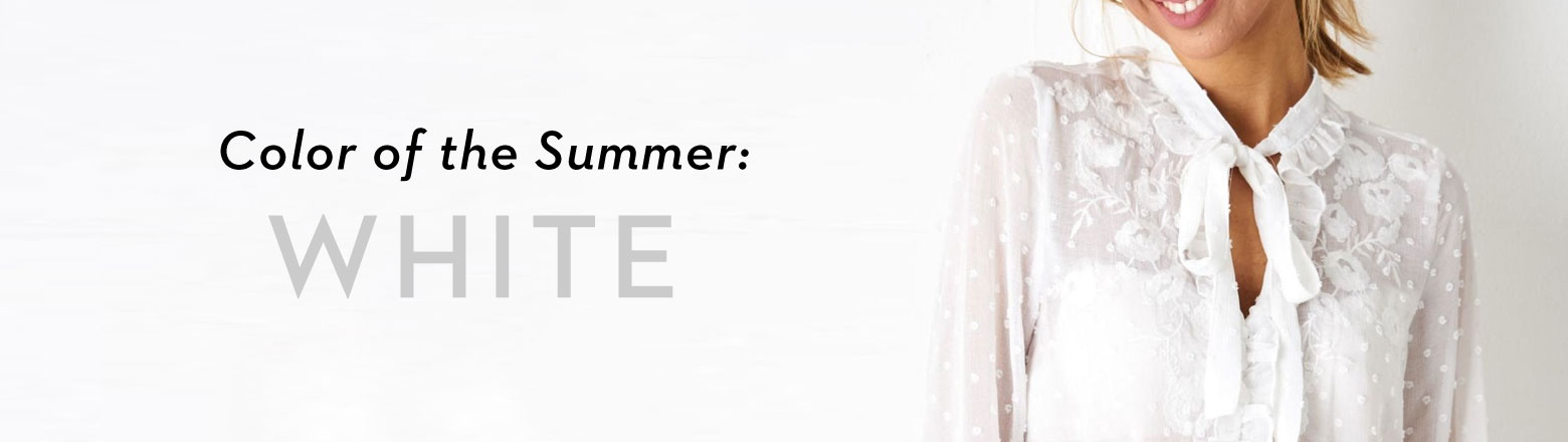 Shoptiques Fashion Trends: Color of the Summer: White