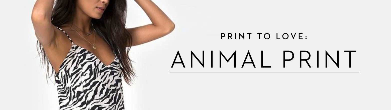 Shoptiques Fashion Trends: Print We Love: Animal Print