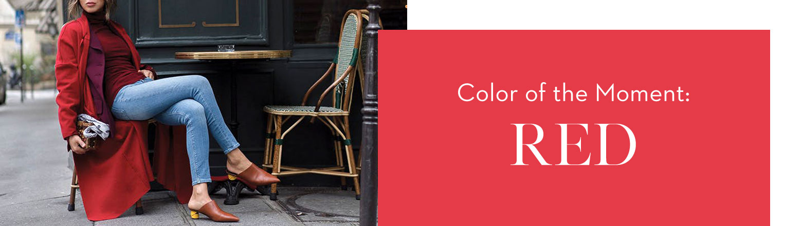 Shoptiques Fashion Trends: Color of the Moment: Red