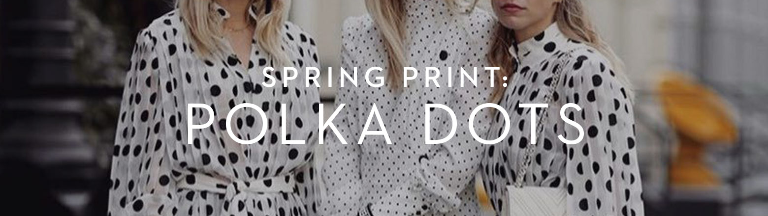 Shoptiques Fashion Trends: Spring Print: Polka Dots