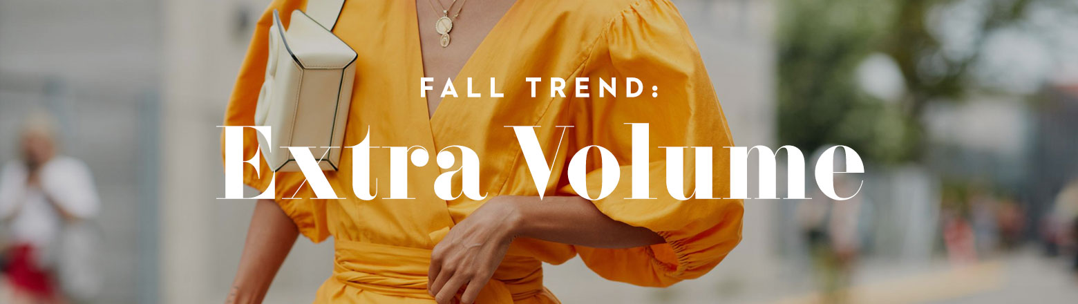 Shoptiques Fashion Trends: Fall Trend: Extra Volume