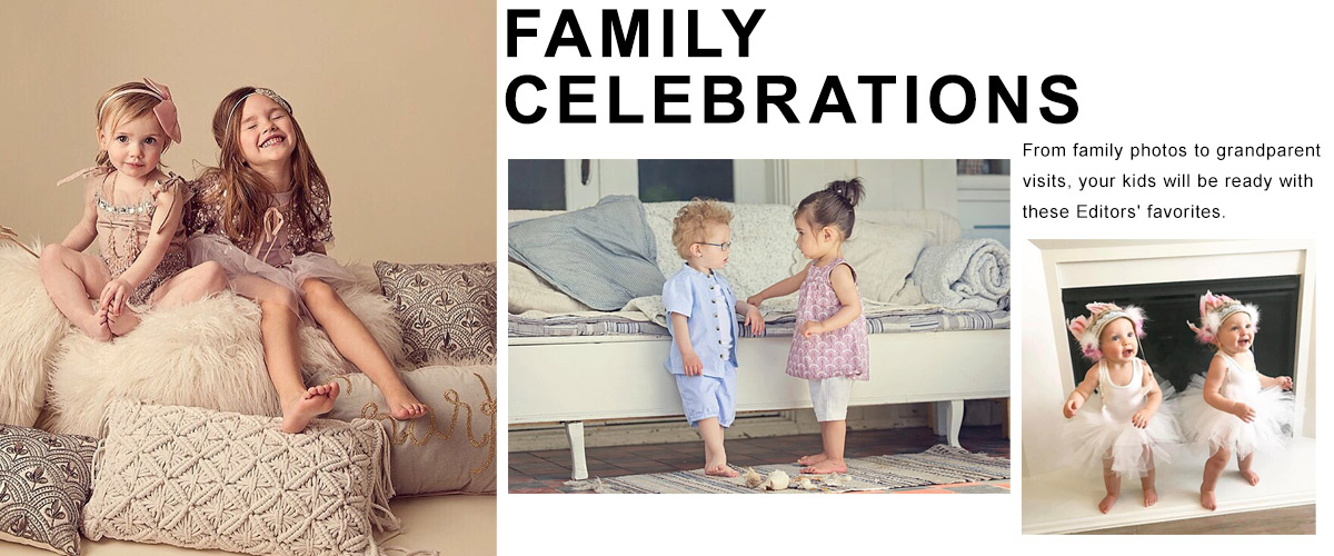 ShopKids Collection: Family Celebrations