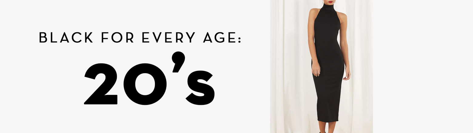 Shoptiques Fashion Trends: Black For Every Age: 20's