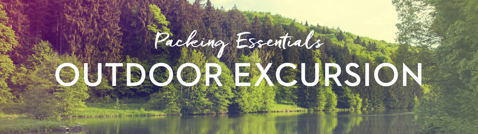 Shoptiques Fashion Trends: Packing Essentials: Outdoor Excursion