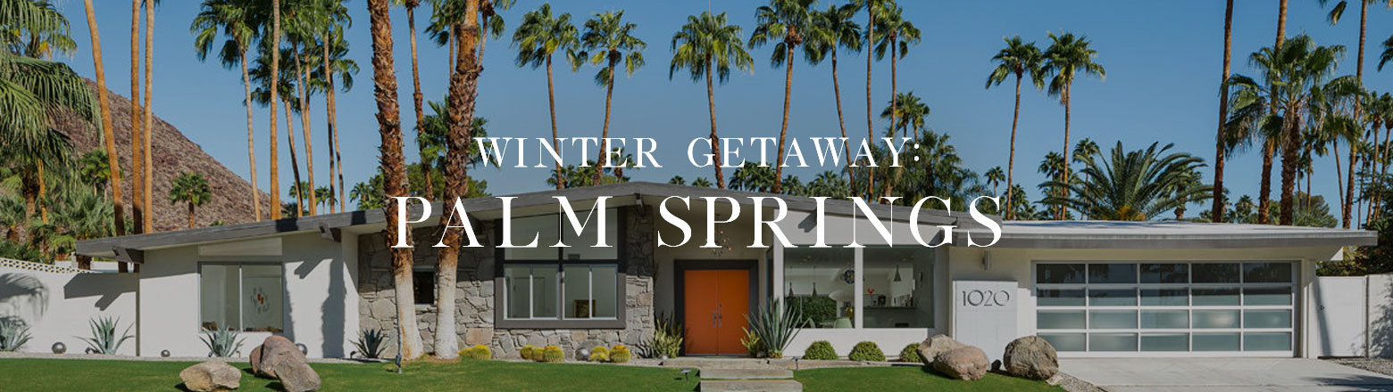 Shoptiques Fashion Trends: Winter Getaway: Palm Springs