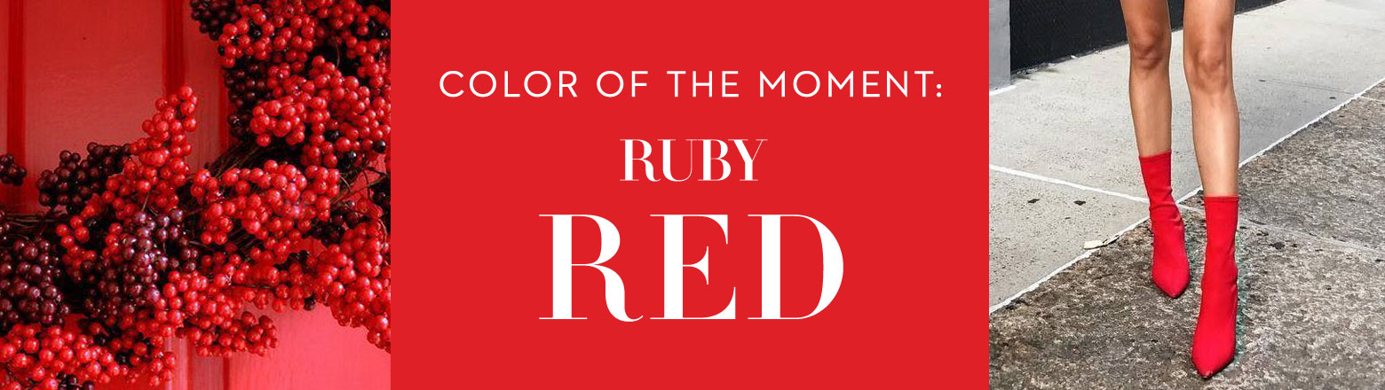 Shoptiques Fashion Trends: Color of the Moment: Ruby Red