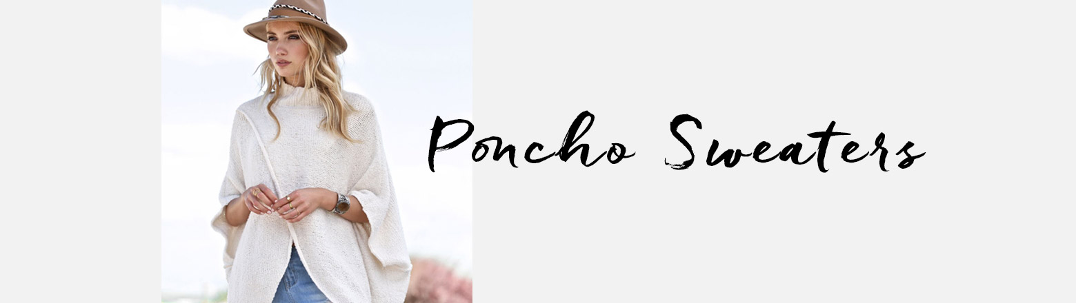 Shoptiques Fashion Trends: Sweater Guide: The Poncho