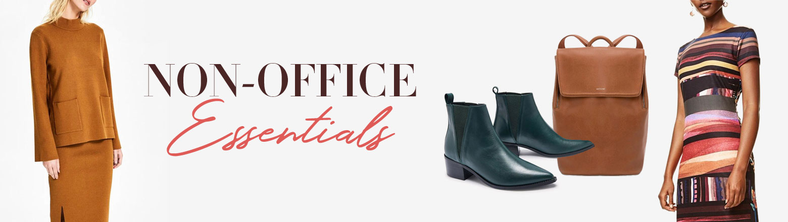 Shoptiques Fashion Trends: Workwear Essentials: Non-Office Essentials