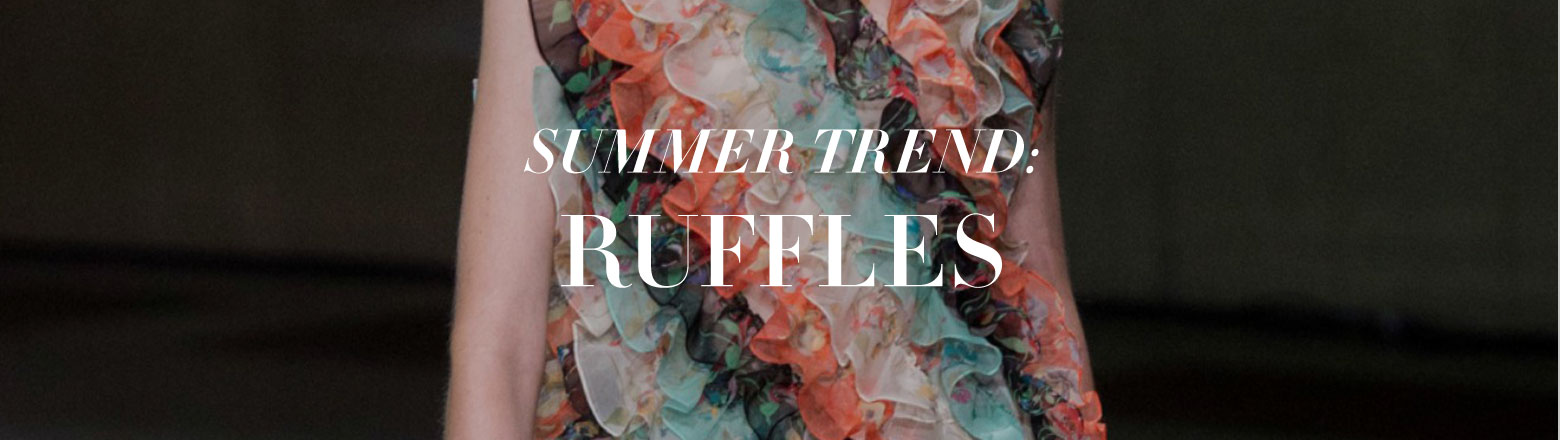 Shoptiques Fashion Trends: Trend to Try: Ruffles