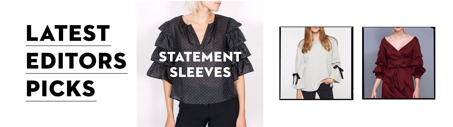 Shoptiques Fashion Trends: Editor's Picks: Statement Sleeves