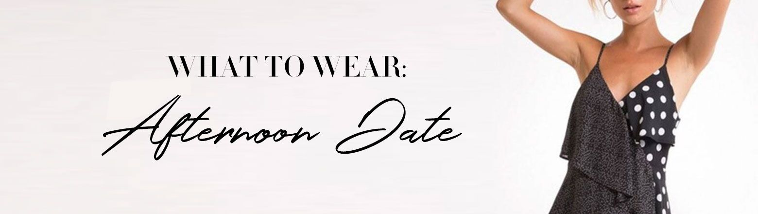 Shoptiques Fashion Trends: What To Wear: Afternoon Date