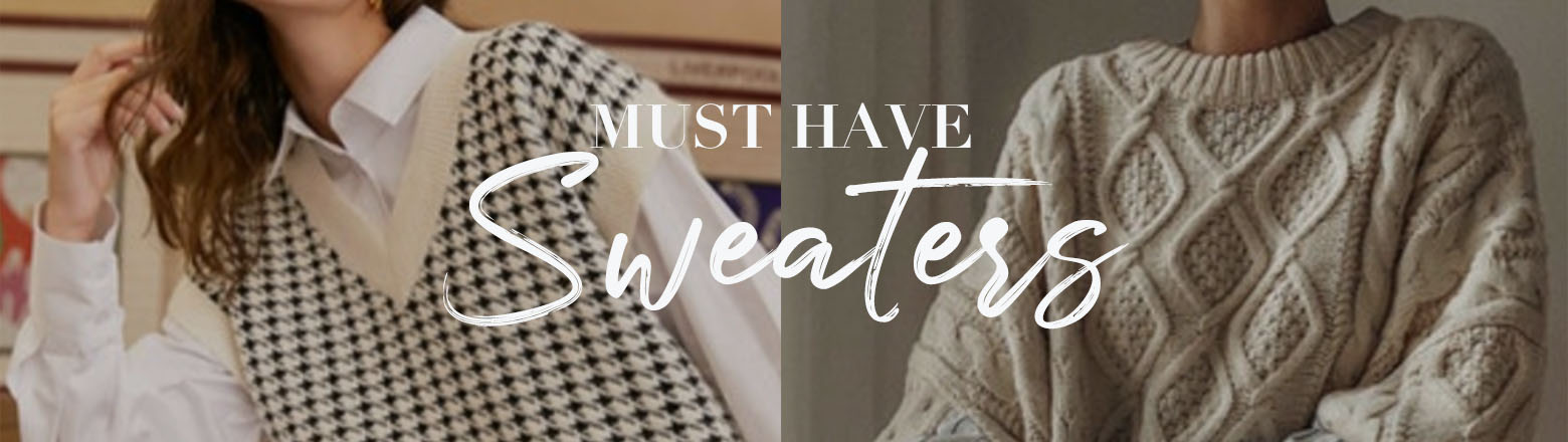 Shoptiques Fashion Trends: Must Have Sweaters
