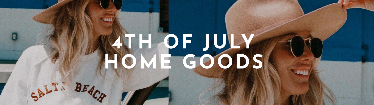 Shoptiques Fashion Trends: 4th of July Home Goods