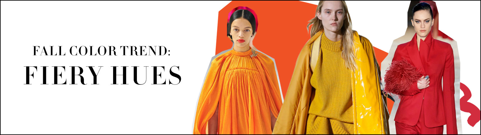 Shoptiques Fashion Trends: Fall Color Trend: Fiery Hues