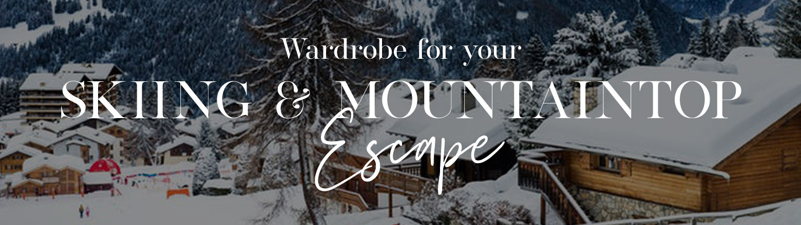Shoptiques Fashion Trends: What To Wear: the Mountains