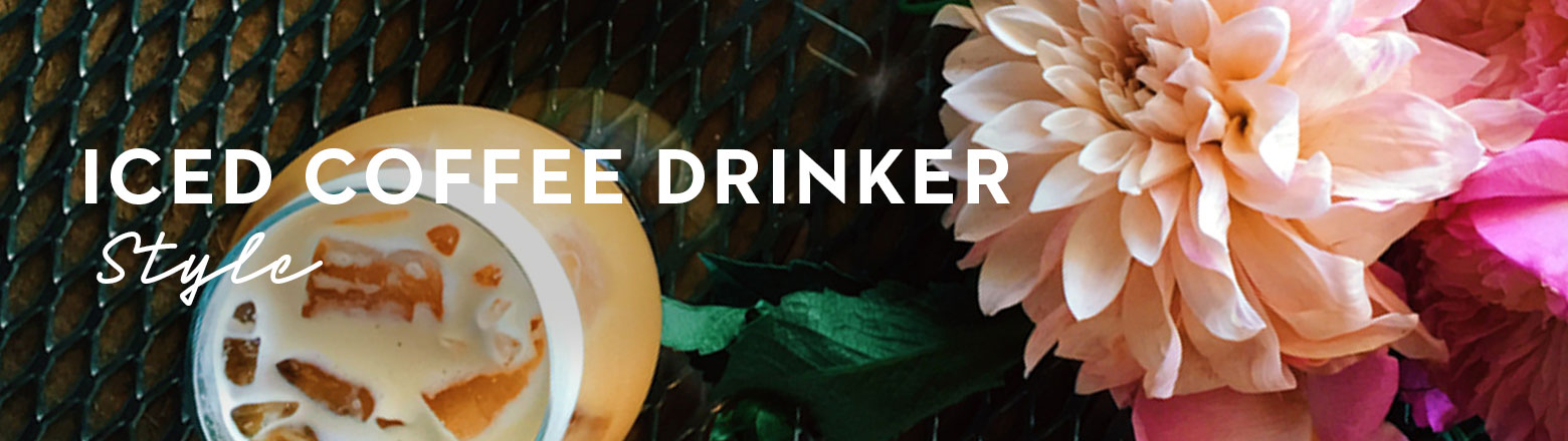 Shoptiques Fashion Trends: The Iced Coffee Drinker
